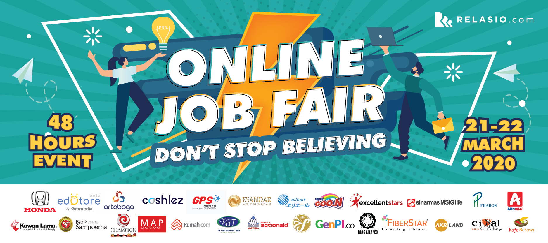 Online Job Fair Relasio.com March 2020 Session 1