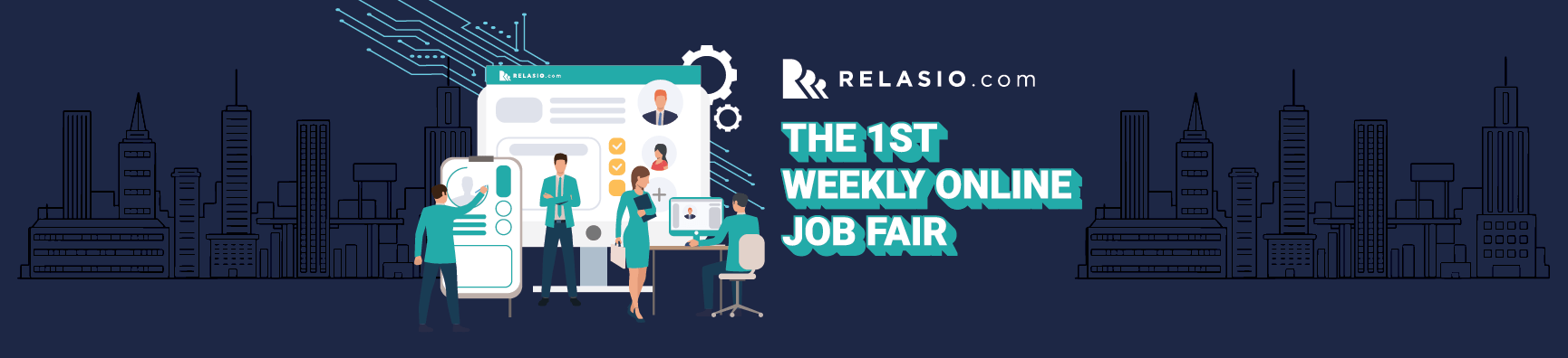 the 1st weekly online job fair