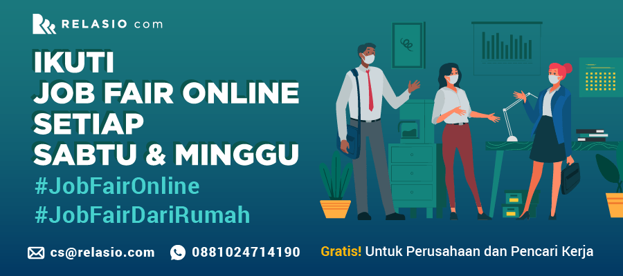 Online Job Fair Relasio.com Mei 2020 Session 10