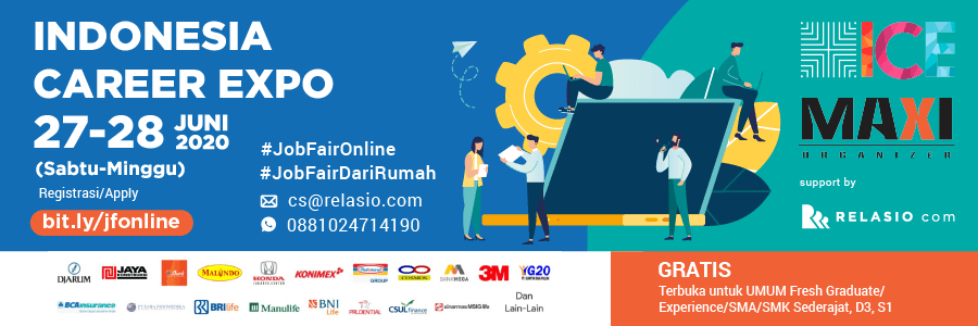 Indonesia Career Expo Job Fair Online