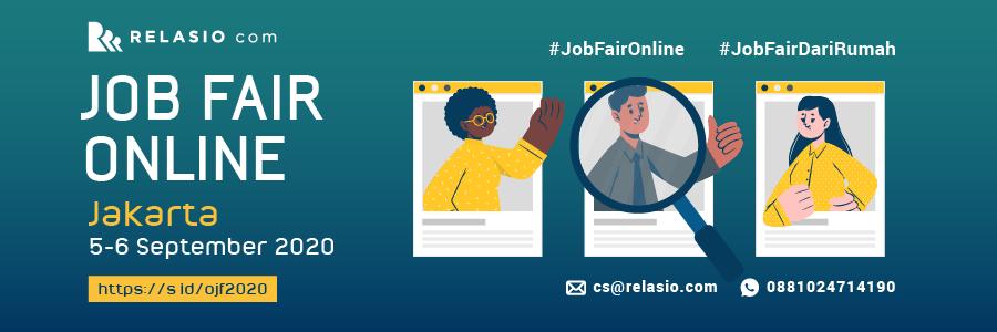 Indonesia Career Expo Job Fair Online Jakarta 5-6 September 2020