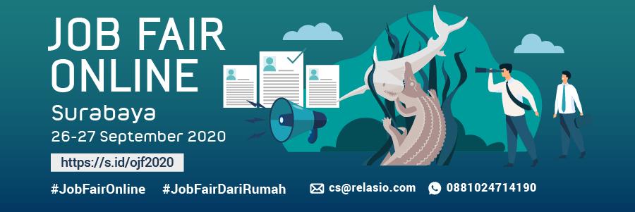 Indonesia Career Expo Job Fair Online Surabaya 26 - 27 September 2020