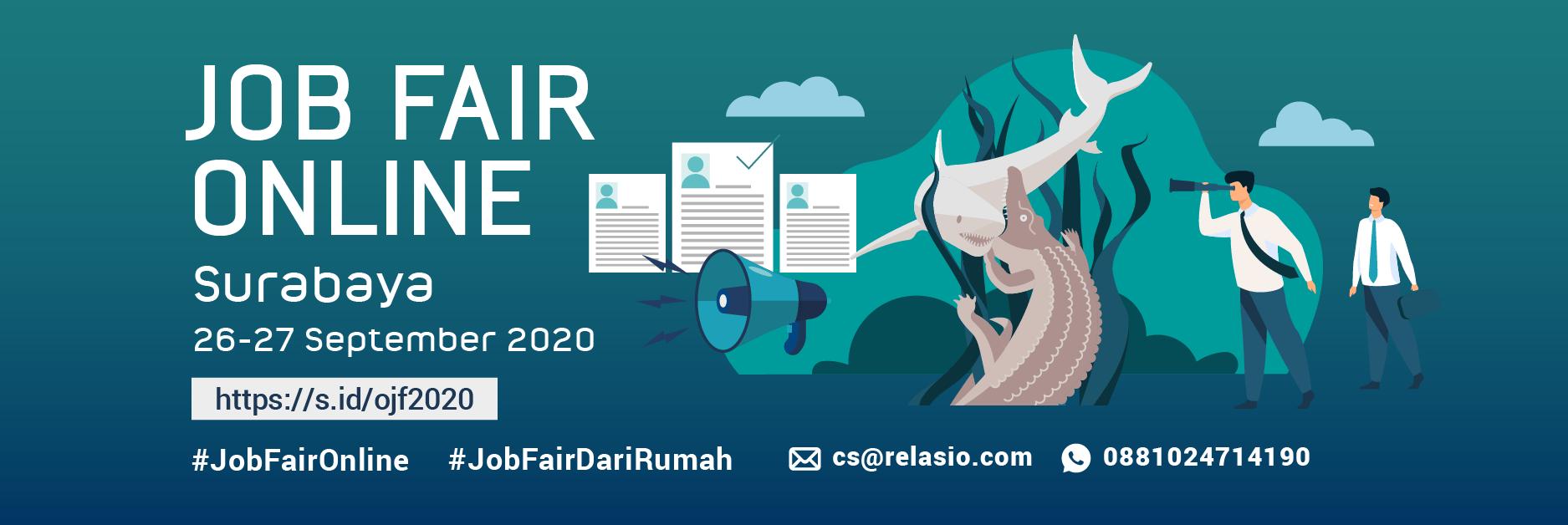 Job Fair Online Relasio.com September 2020