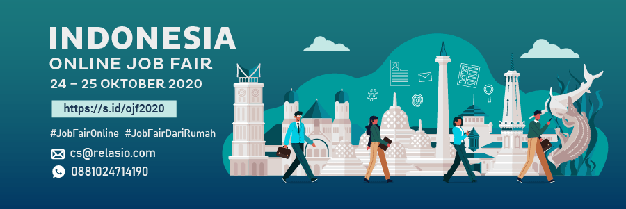 Indonesia Career Expo Job Fair Online 24 - 25 Oktober 2020