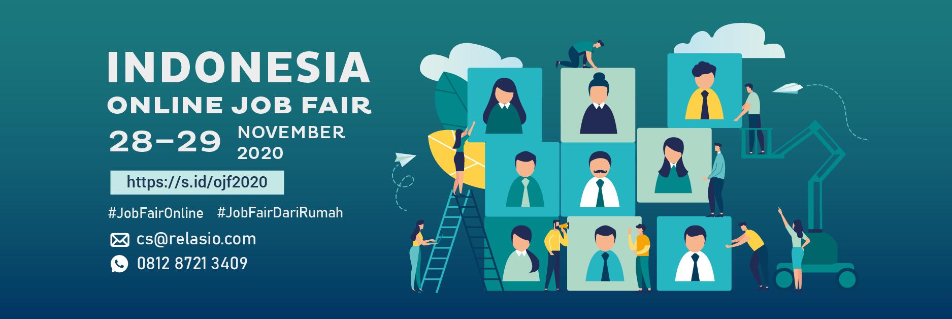 Job Fair Online Relasio.com November 2020