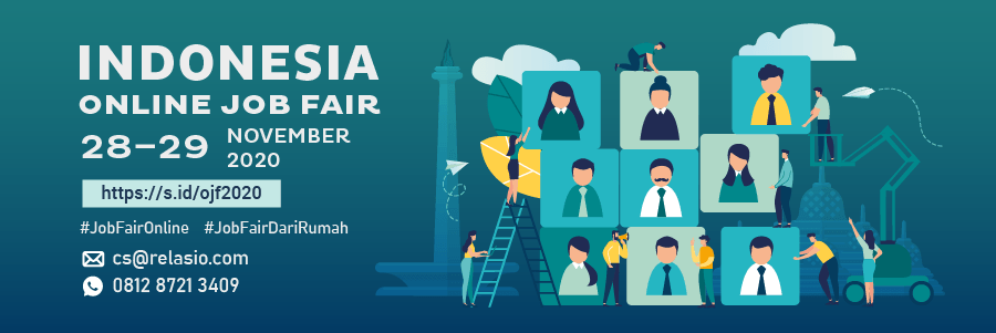 Indonesia Career Expo Job Fair Online 28 - 29 November 2020