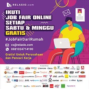 event job fair online Relasio.com maret 2020