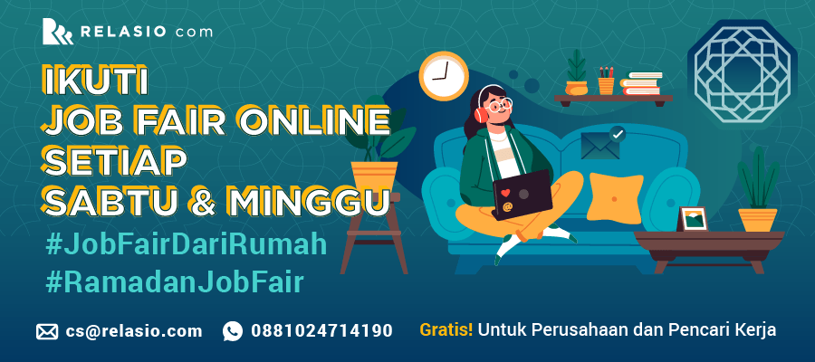 Online Job Fair Relasio.com Mei 2020 Session 9
