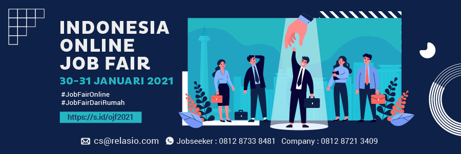Indonesia Career Expo Job Fair Online 30 - 31 Januari 2021