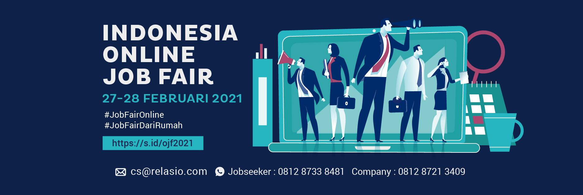 Job Fair Online Relasio.com Februari 2021