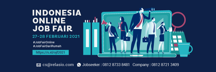 Indonesia Career Expo Job Fair Online 27 - 28 Februari 2021