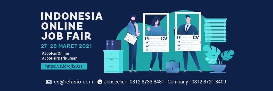 Indonesia Career Expo Job Fair Online 27 - 28 Maret 2021