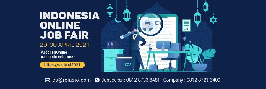 Indonesia Career Expo Job Fair Online 29 - 30 April 2021