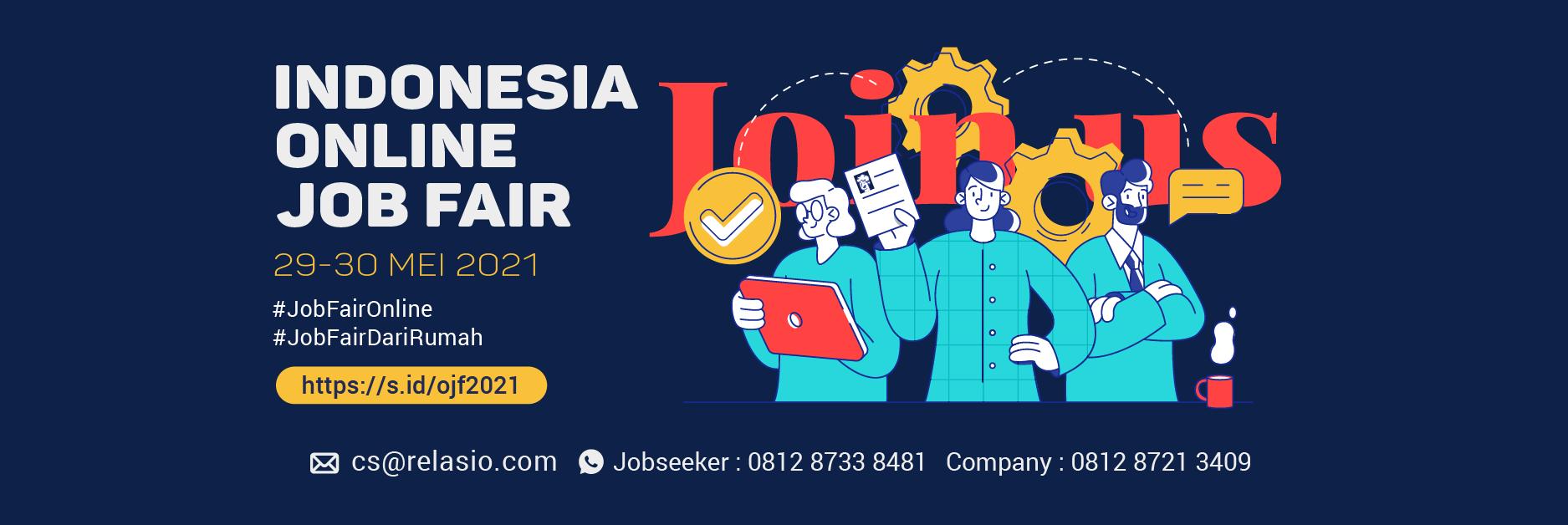 Job Fair Online Relasio.com April 2021