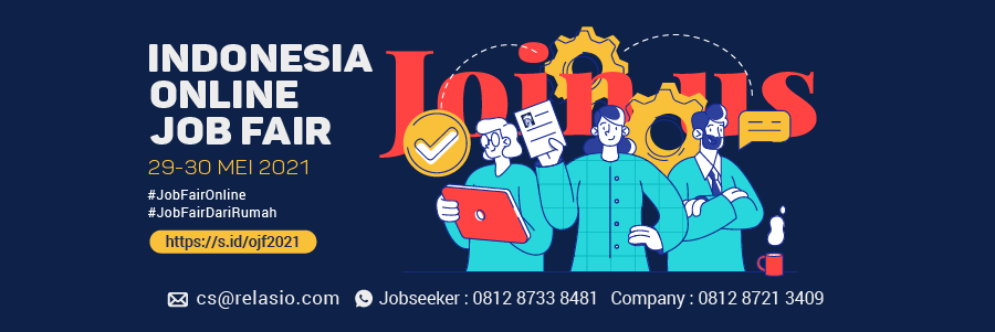 Indonesia Career Expo Job Fair Online 29 - 30 Mei 2021