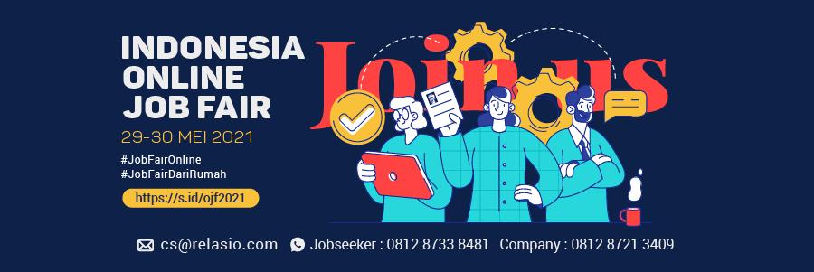 Indonesia Career Expo Job Fair Online 29 - 30 Mei 2021