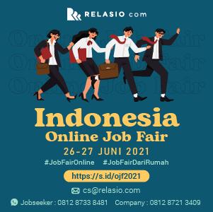 event job fair online Relasio.com april 2021