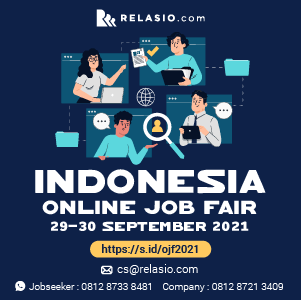 event job fair online Relasio.com Juli 2021